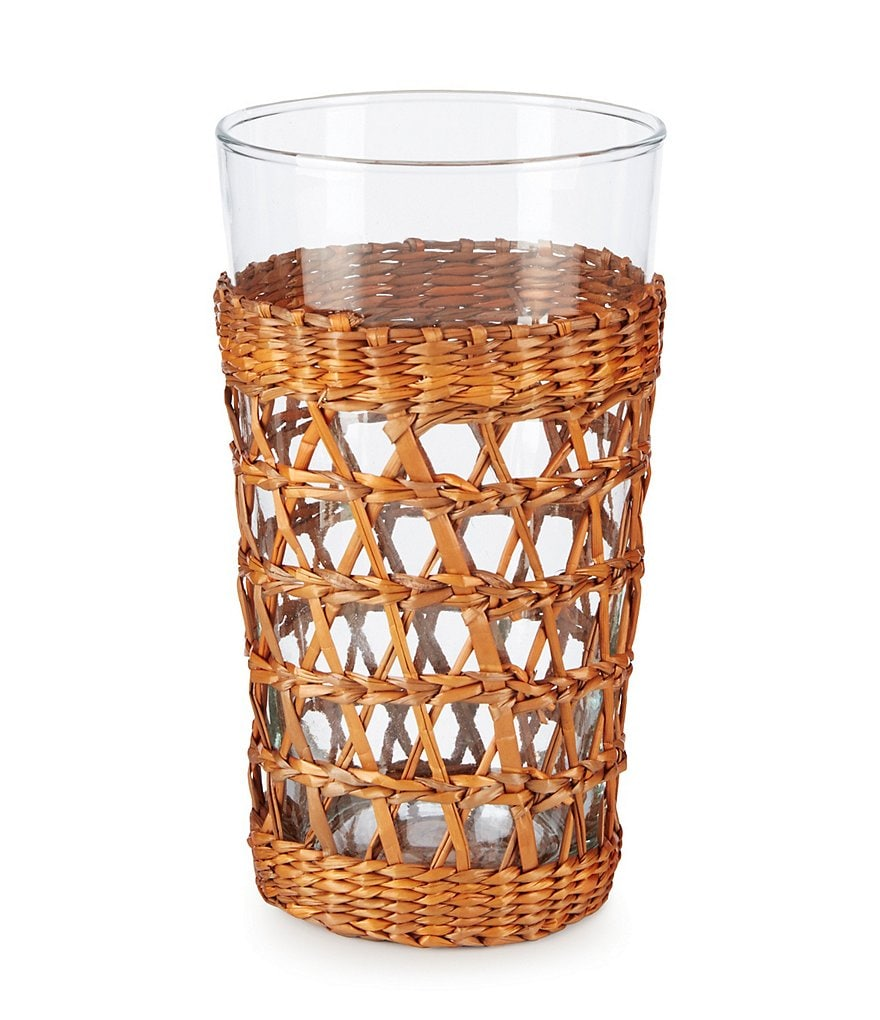 Southern Living Rattan Collection Barbados Highball Glass