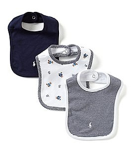 Ralph Lauren Childrenswear 3-Pack Bib Set Image