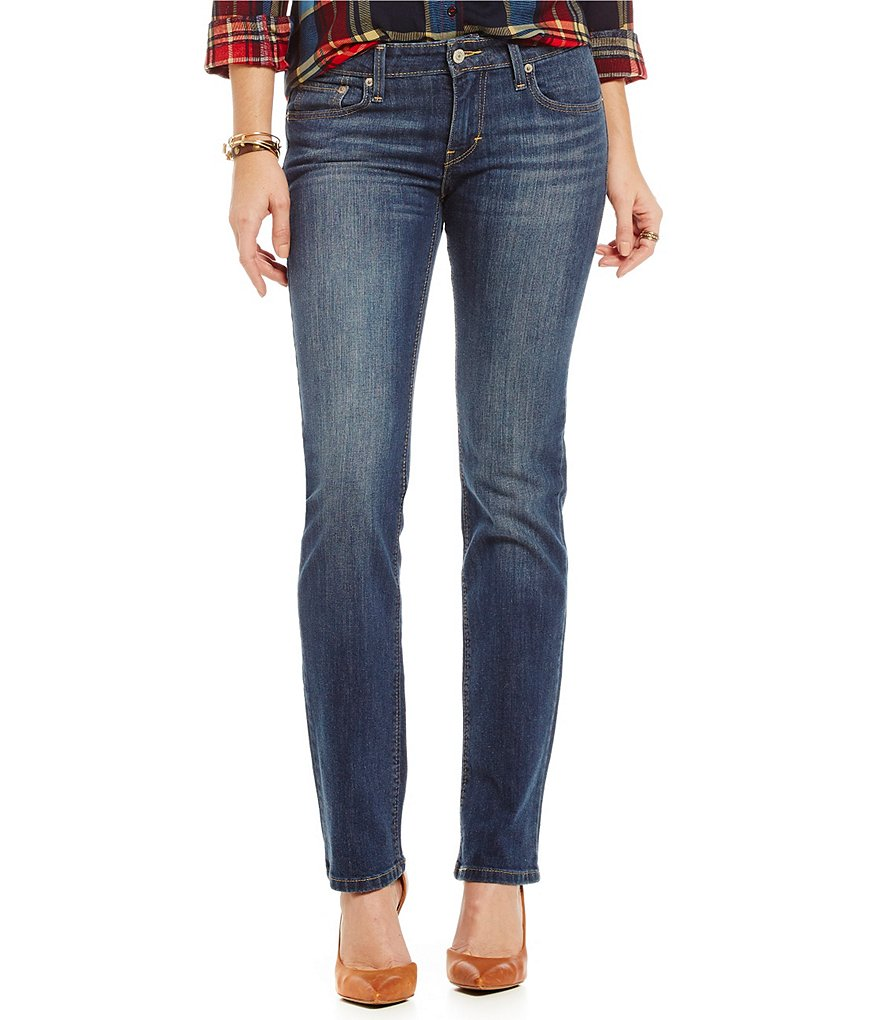 Levi´s® 518™ Straight-Leg Stretch Denim Jeans
