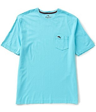 Tommy Bahama New Bali Skyline Short-Sleeve Crewneck Solid Pocket Tee