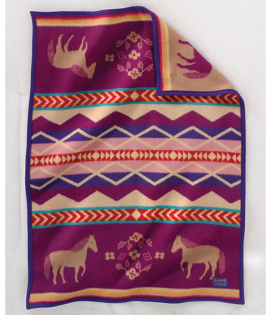 Pendleton Painted Pony Muchacho Wool & Cotton Blanket