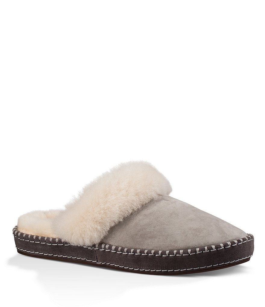 UGG® Aria Decorative Foxing Stitch Water-Resistant Slippers