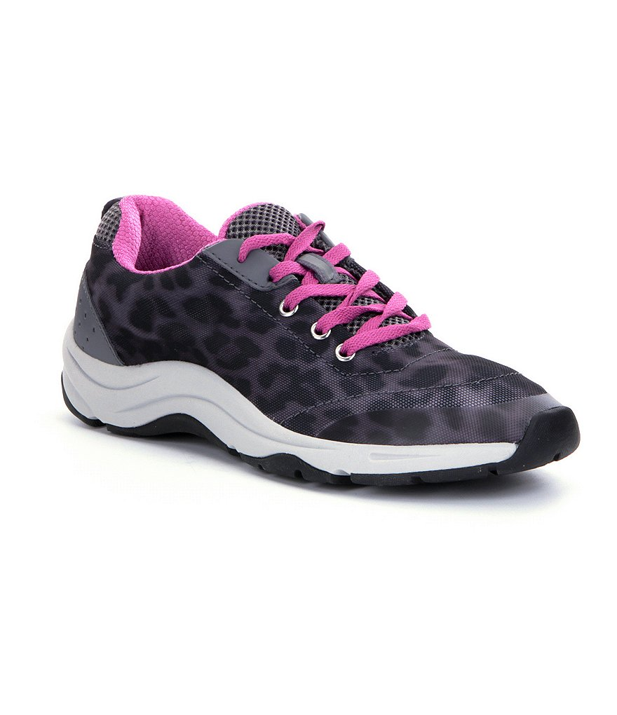 Vionic® Action Tourney Leopard-Print Sneakers