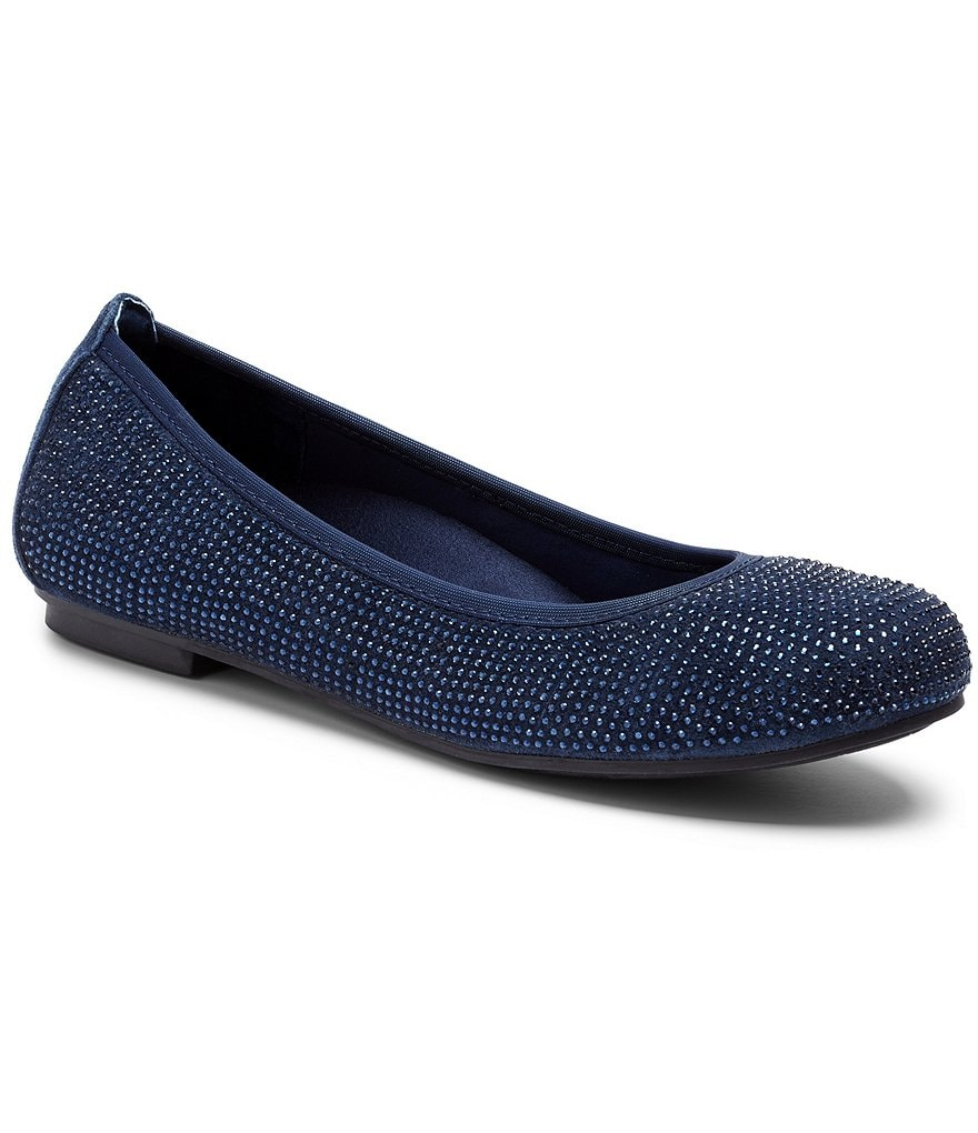 Vionic® Spark Willow Jeweled Ballet Flats