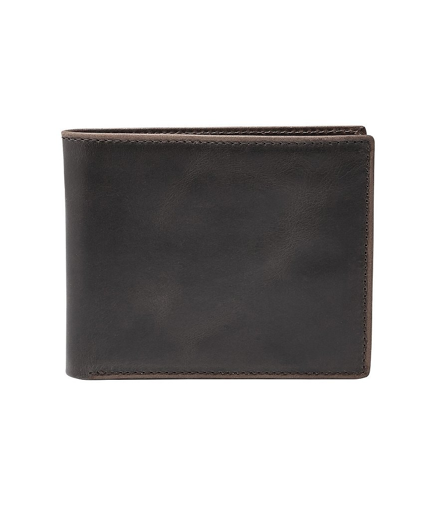 Fossil Anderson Leather Bifold with Flip ID Wallet