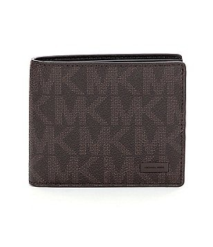 Michael Kors Signature Billfold Wallet with Passcase