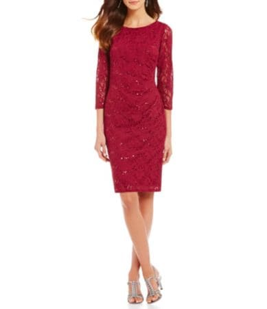Red cocktail dress dillards mens suits