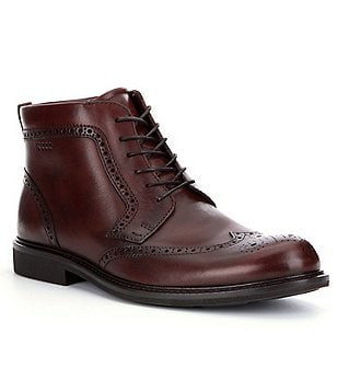 ECCO Findlay Wingtip Boots