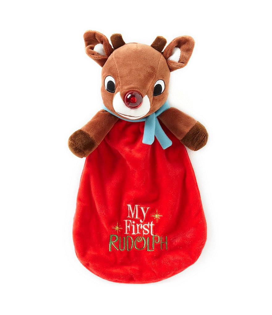Rudolph The Red-Nosed Reindeer by Baby Starters Christmas Lovey Toy