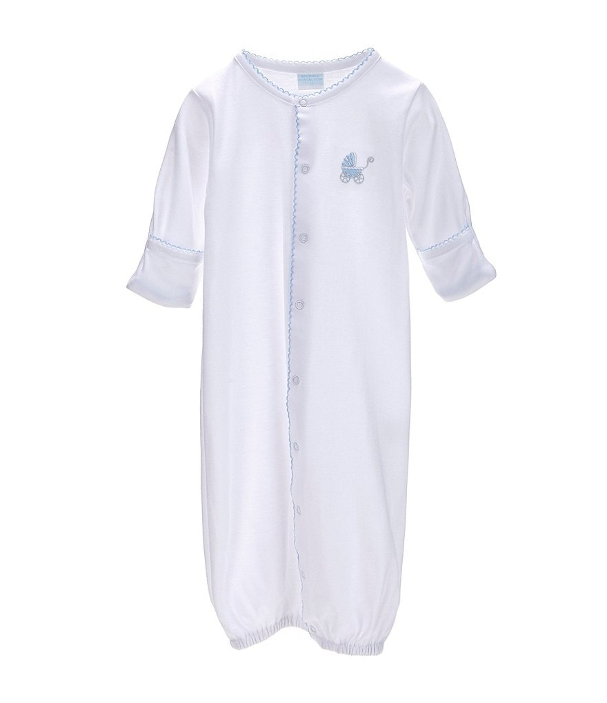 Edgehill Collection Baby Boys Newborn-6 Months Gown