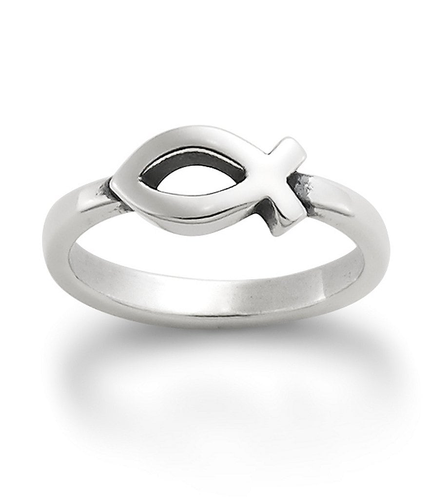 James Avery Small Ichthus Ring
