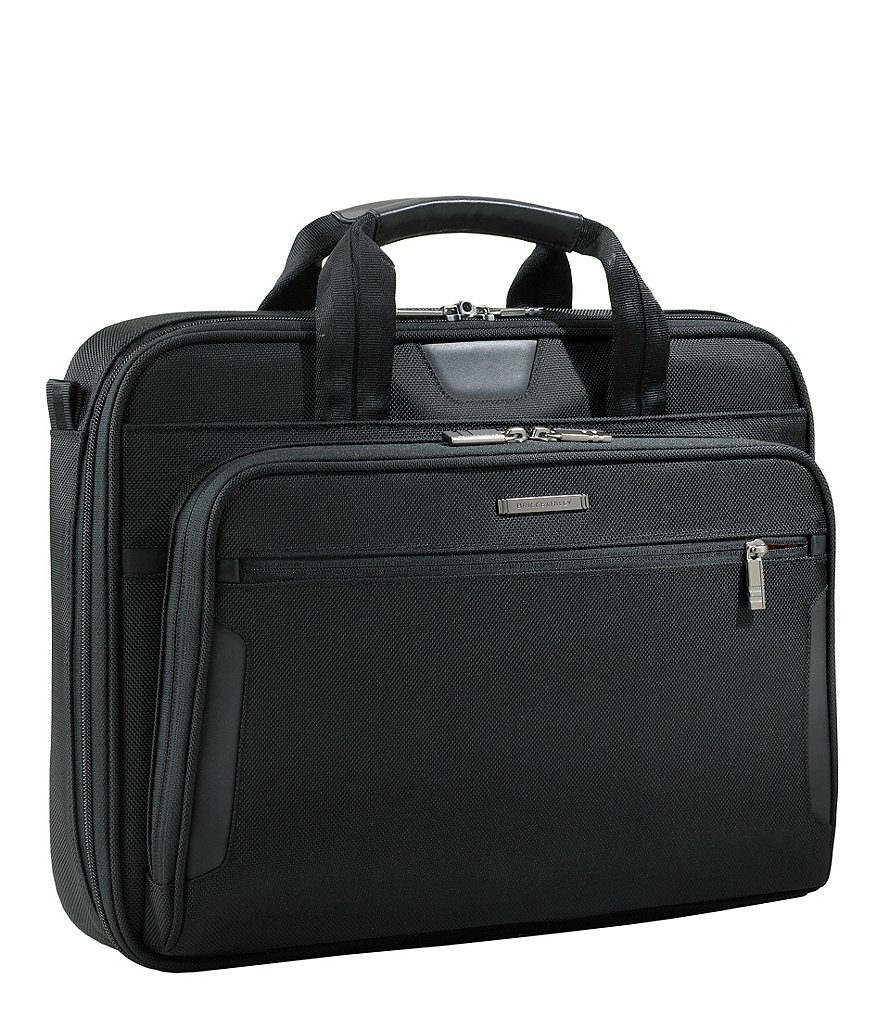Briggs & Riley @Work Collection Medium Lightweight Slim Laptop Briefcase