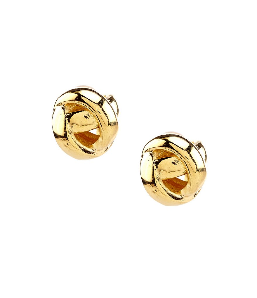 kate spade new york Dainty Sparklers Knot Stud Earrings