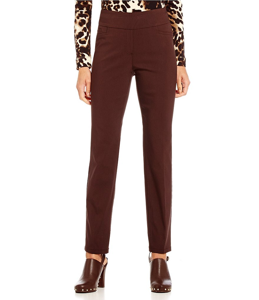 Westbound Petite the PARK AVE fit Slim Leg Pant