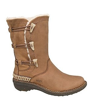 UGG® Kona Elastic Toggle Leather Boots