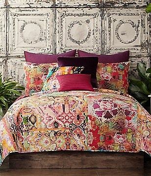 Poetic Wanderlust™ by Tracy Porter Winward Bohemian Mixed-Pattern Voile Quilt