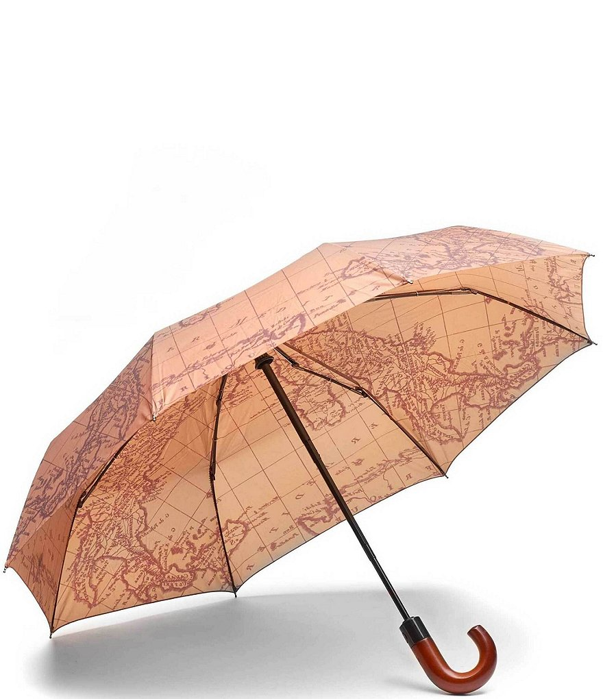 Patricia Nash Signature Map-Print Magliano Umbrella