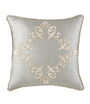Waterford Olivette Embroidered Square Pillow