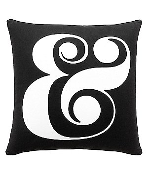 kate spade new york Ampersand Square Pillow