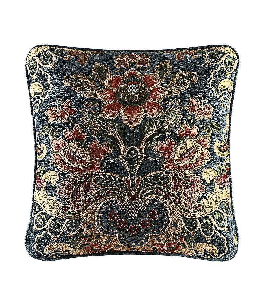 J. Queen New York Cassandra Floral Chenille Square Pillow
