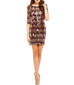 Juniors Sequin Amp Sparkling Dresses Dillards