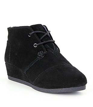 TOMS Desert Wedge Suede Girls´ Boots