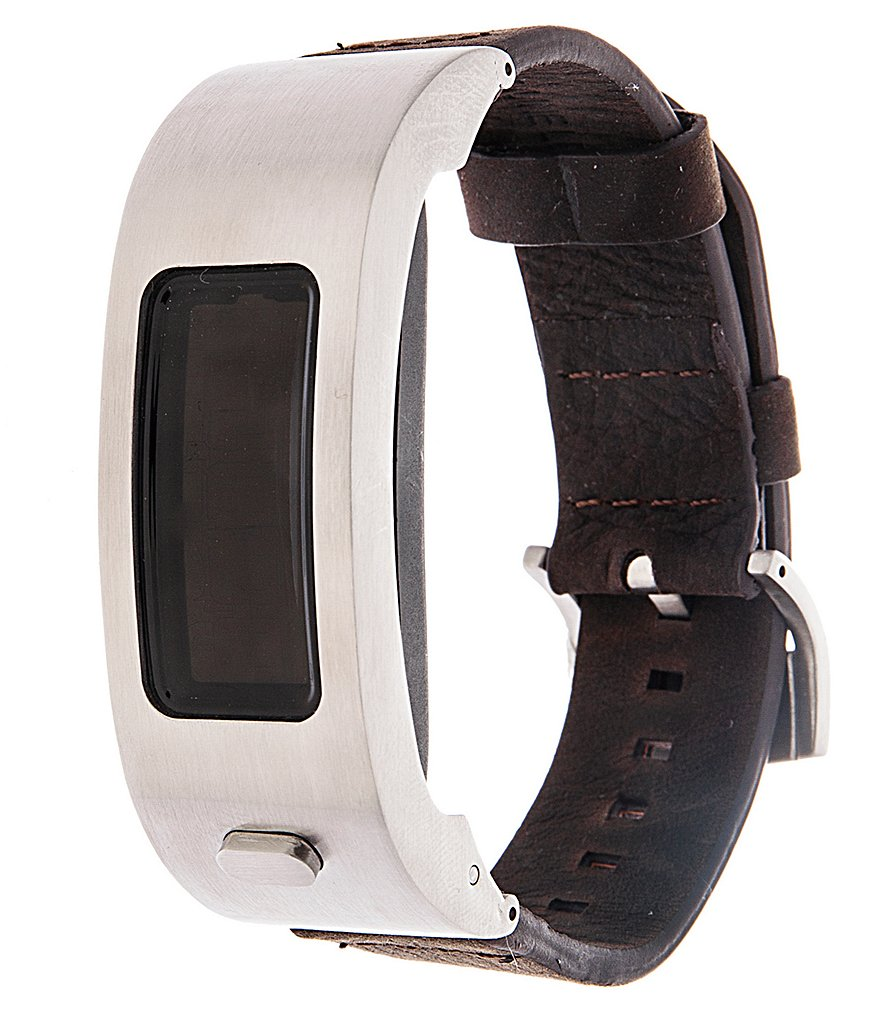 Garmin vivofit 2 Leather-Strap Activity Tracker