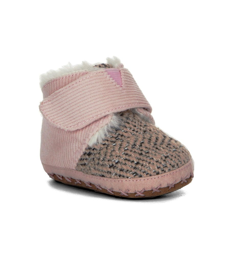 TOMS Cuna Girls´ Crib Shoes