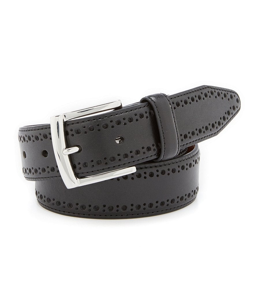Johnston & Murphy Perforated Belt