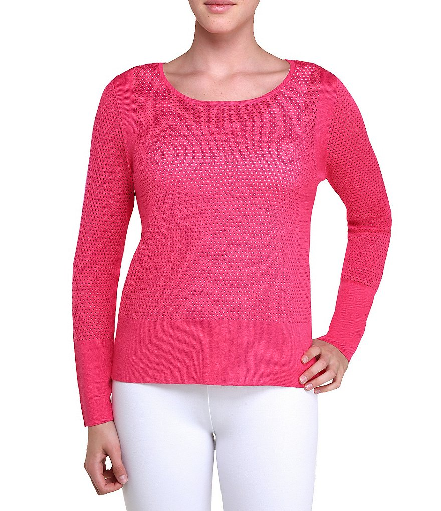 Peter Nygard Pointelle Sweater