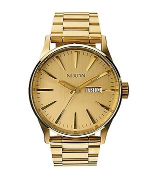 Nixon The Sentry Stainless Steel Analog Bracelet Watch