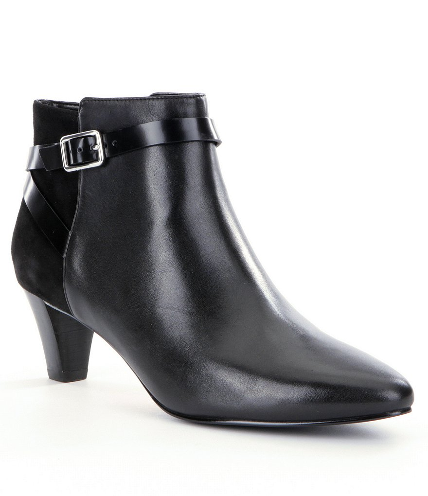 Cole Haan Sylvan Pointed-Toe Booties