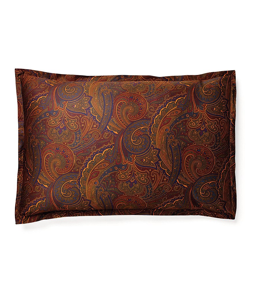 Ralph Lauren Frazier Tracery Sateen Oblong Pillow