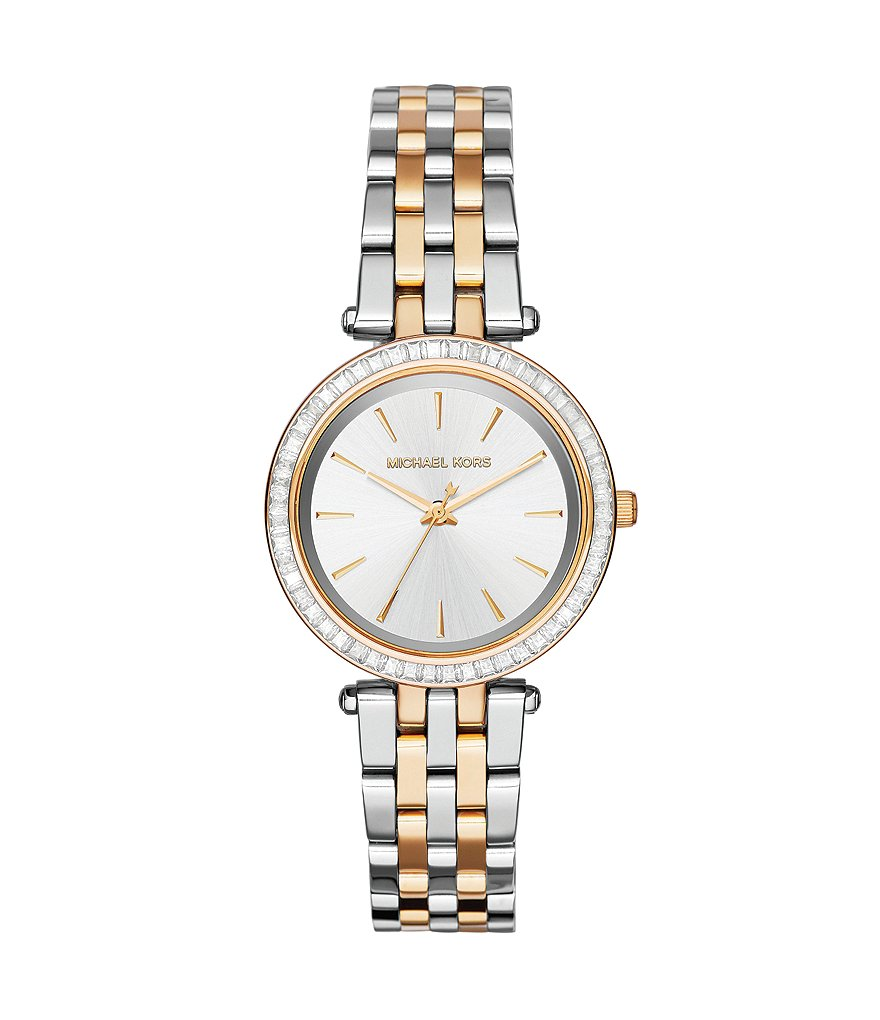 Michael Kors Ladies´ Mini Darci 2 Tone Stainless Steel 3 Hand Bracelet Watch