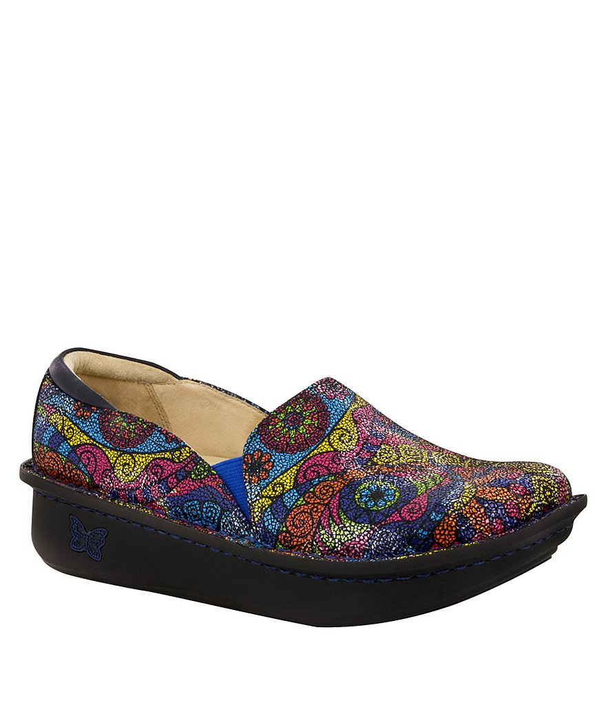 Alegria Debra Impression Professional Stain-Resistant Leather Clogs