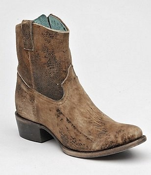 Corral Boots Abstract Western Ankle Boots