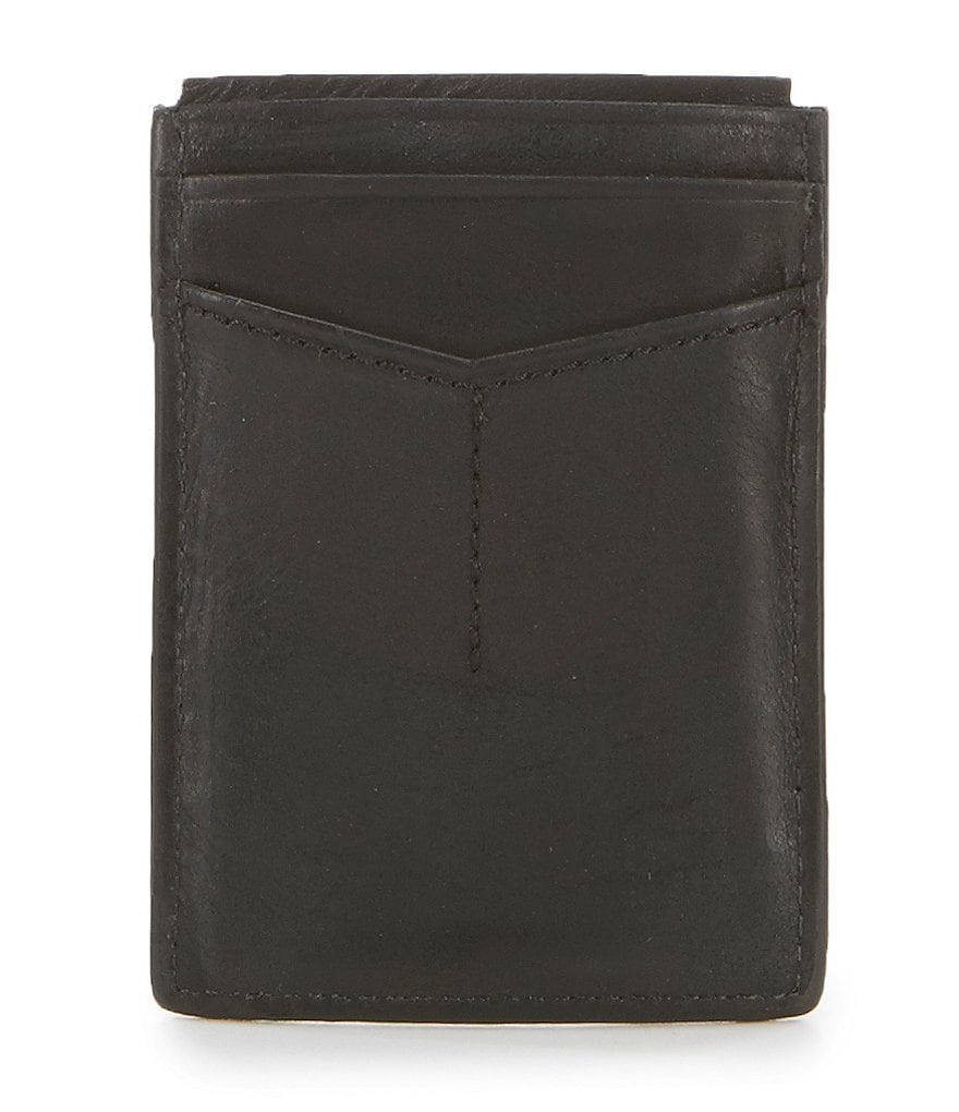 Fossil Quinn Leather Magnetic Money Clip