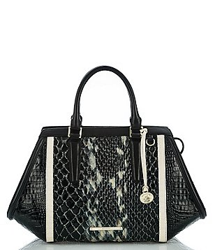 Brahmin Carlisle Collection Arden Satchel