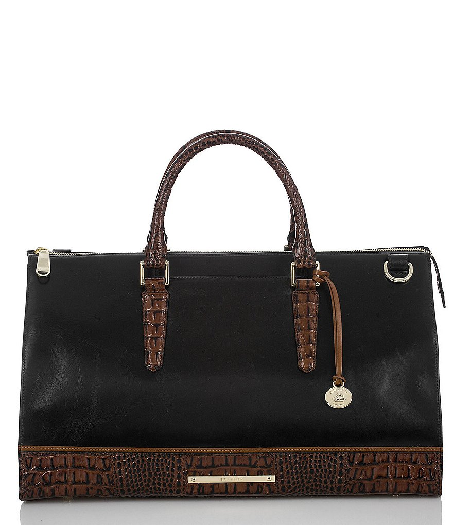 Brahmin Tuscan Tri-Texture Collection Anywhere Weekender