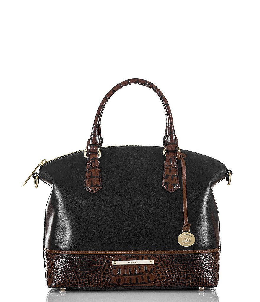 Brahmin Tuscan Tri-Texture Collection Duxbury Satchel