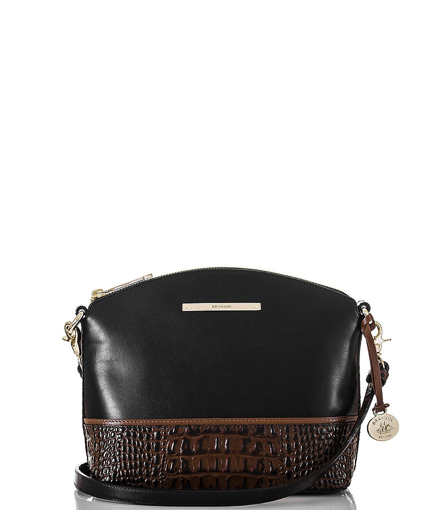Brahmin Tuscan Tri-Texture Collection Mini Duxbury Cross-Body Bag