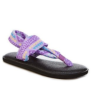 Sanuk Girls´ Yoga Sling Burst Geometric Sandals