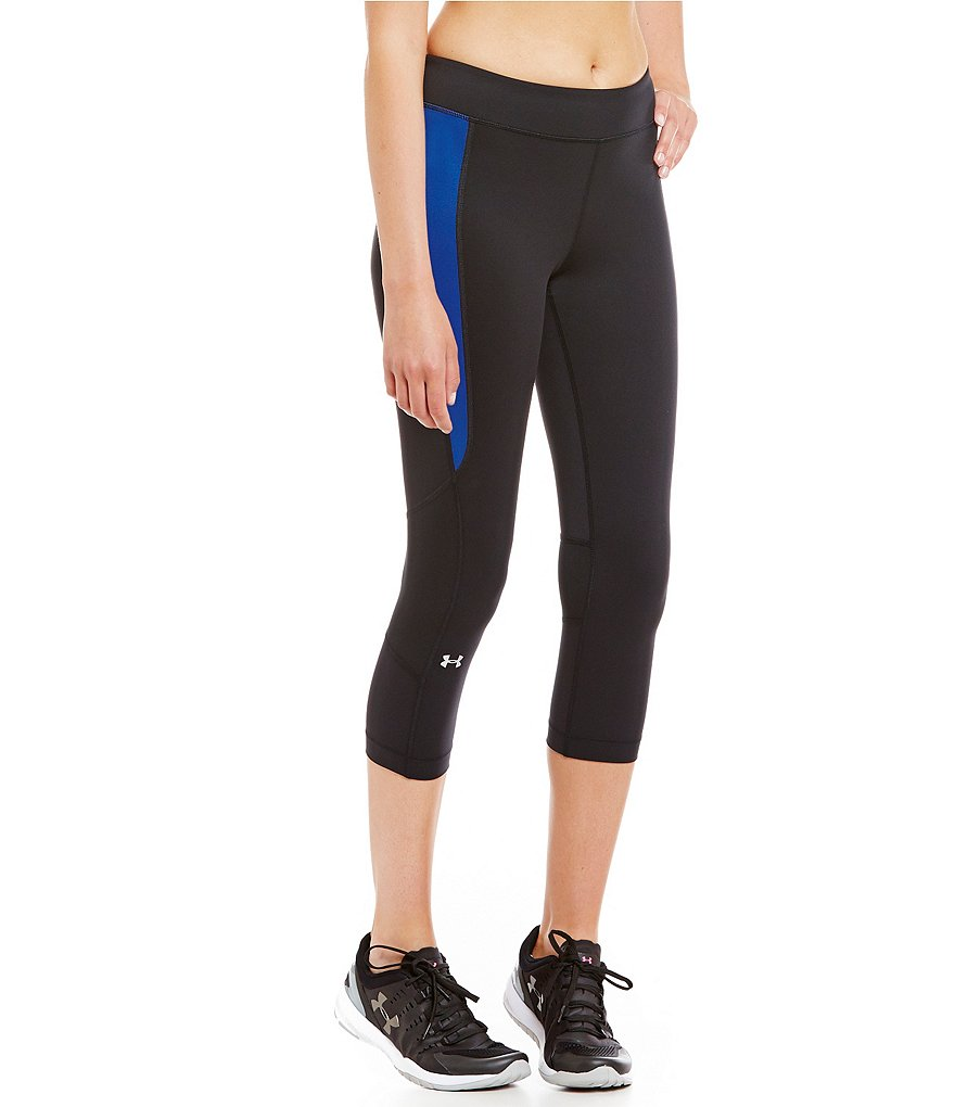 Under Armour UA HeatGear Armour Crop Pants