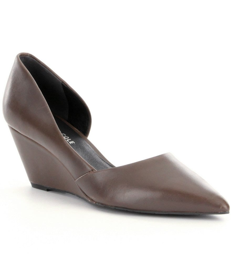 Kenneth Cole New York Ellis Pointed-Toe d´Orsay Wedges