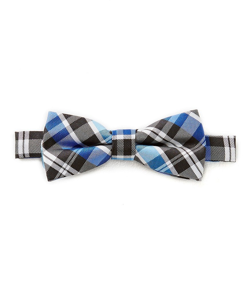 Class Club Basic Plaid Bow Tie