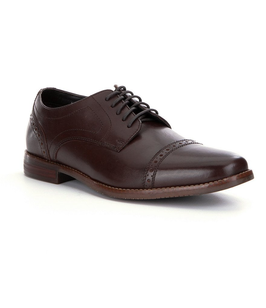 Rockport Style Purpose Cap-Toe Dress Shoes