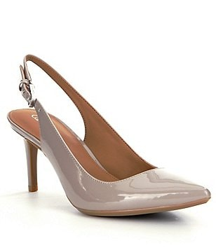 Calvin Klein Giovanna Pointed-Toe Slingback Pumps