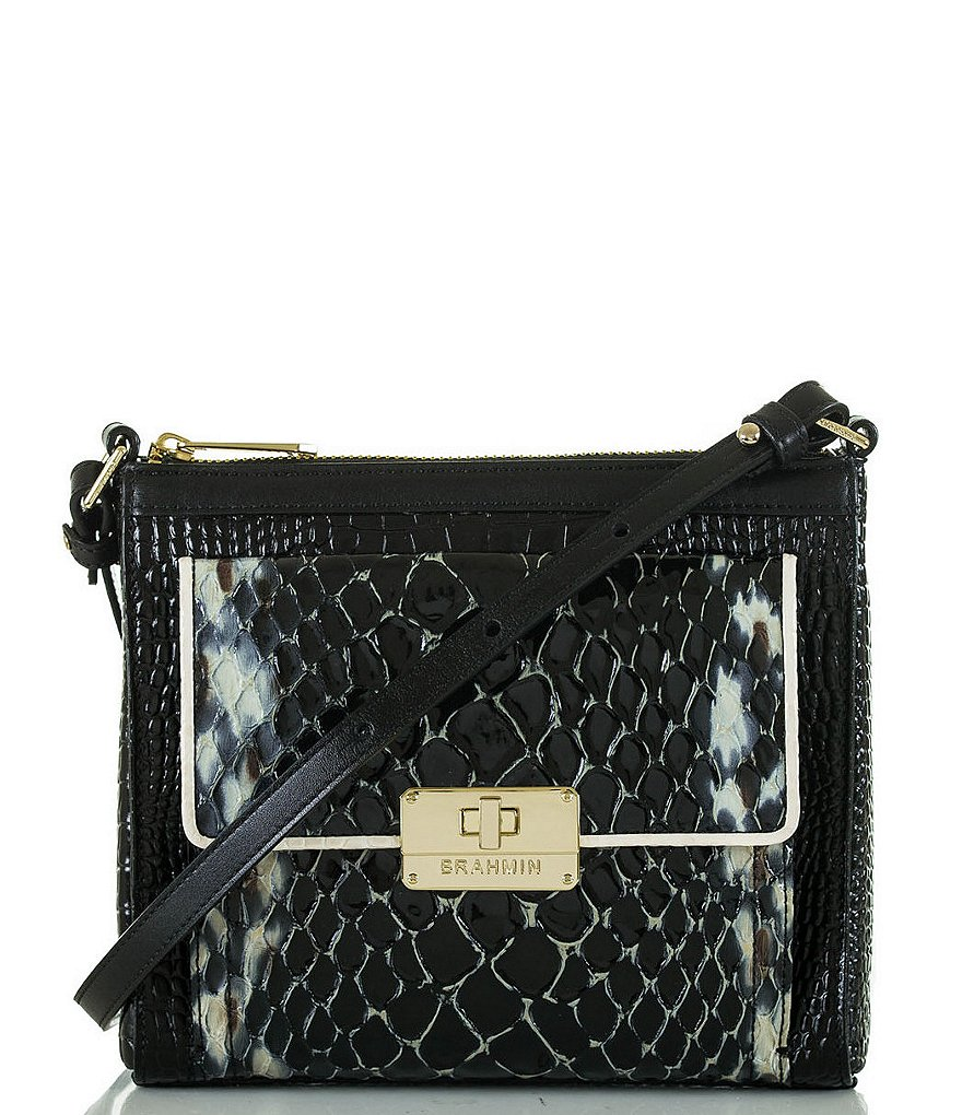 Brahmin Carlisle Collection Mimosa Cross-Body Bag