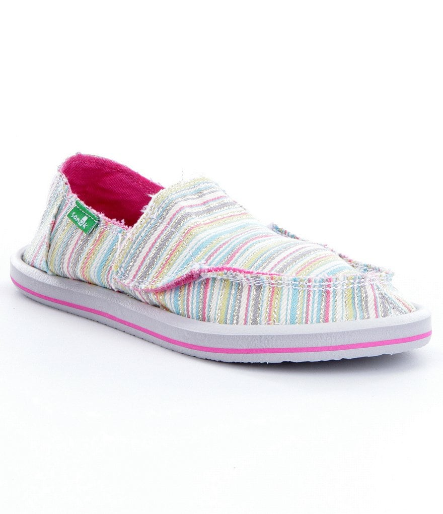 Sanuk Girls´ Donna Striped Shoes
