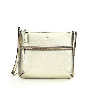 kate spade new york Tenley Metallic Cross-Body Bag